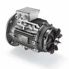Motor electric cu frana S